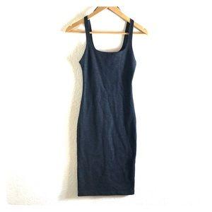 Zara Trafaluc gray sleeveless dress size small